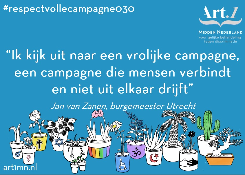 Social respectvolle campagne