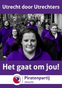 Open inloop: Stel vragen aan de Piratenpartij Utrecht